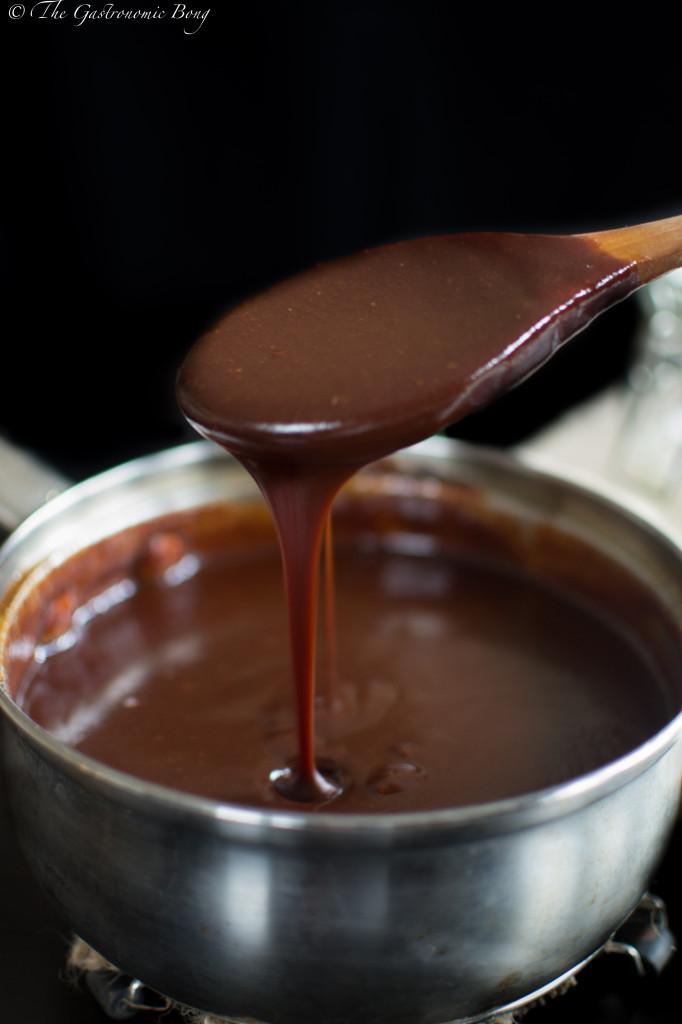 Dark Chocolate Salted Caramel Sauce8