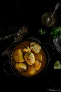 Bengali Style Egg Curry - Dimer Jhol (Dalna)