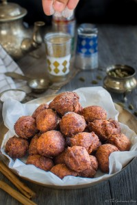 Spiced Banana and Coconut Fritters